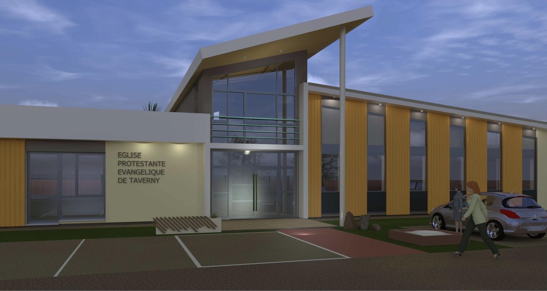AA Projet facade principale directe
